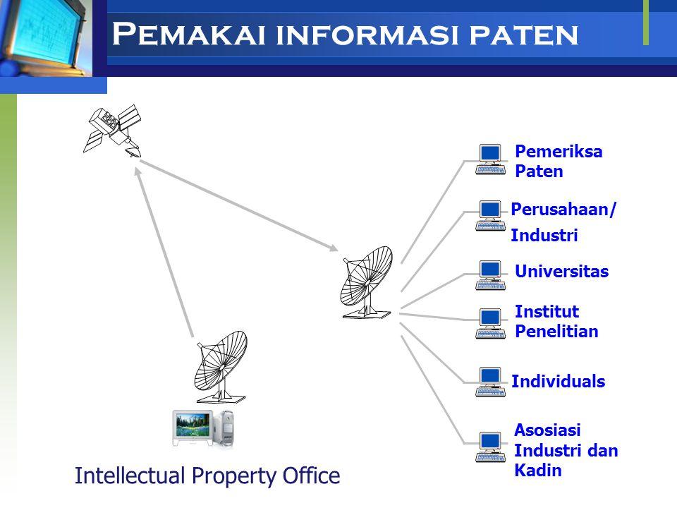 Kebaharuan Informasi Paten Informasi teknologi yang terkandung dalam dokumen paten lebih baru dibandingkan dengan publikasi lain. Contoh: TemuanPaten