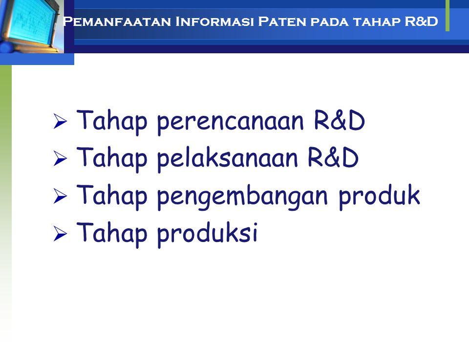 MANFAAT PENELUSURAN PATEN 1.Academic: Pendidikan, R&D 2.Legal: Pelanggaran, Granted (Patentability) 3.Business: Kompetitor, R&D, Pemanfaatan Paten Kad