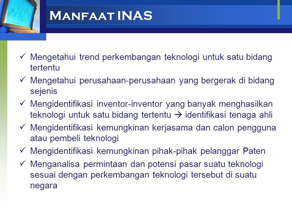 Software INAS dan PatSee INAS = Information Analysis System Merupakan software (program komputer) untuk menganalisa informasi yang terdapat dalam doku