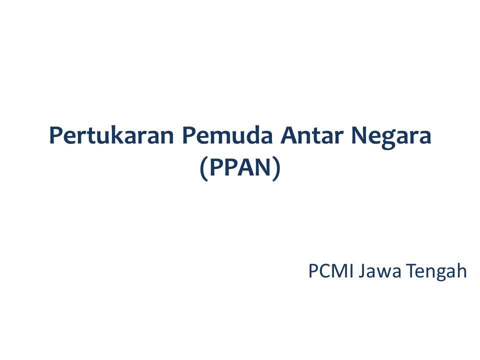 Kerjasama dengan Kementerian Belia dan Sukan Malaysia Tema: Youth development Durasi: 10-14 hari Usia: 23-27 tahun Kegiatan: Institutional visit, discussion, courtesy call, art performance