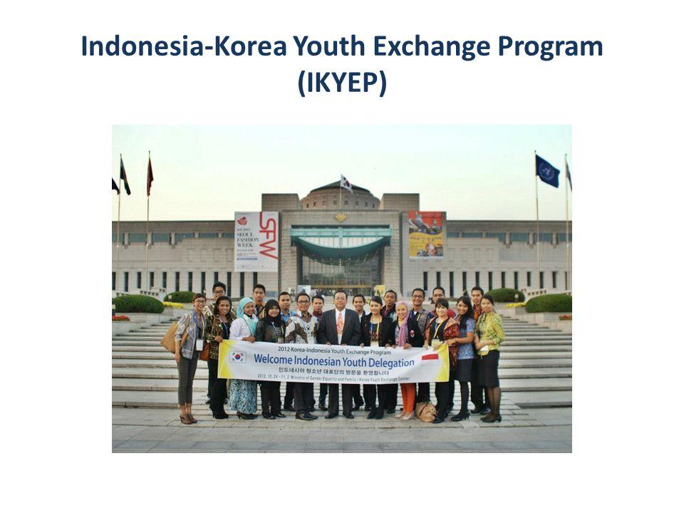 Kerjasama dengan Ministry of Gender Equality & Family, Republic Of Korea.