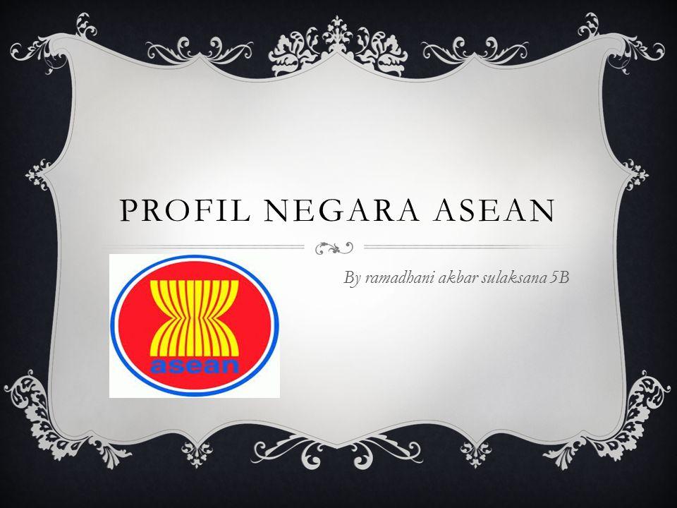 PROFIL NEGARA ASEAN By ramadhani akbar sulaksana 5B