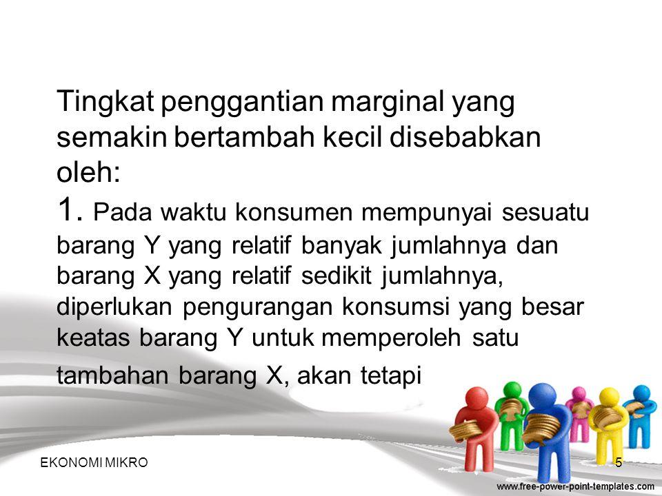 Efek Perubahan Pendapatan EKONOMI MIKRO15 6 9 12