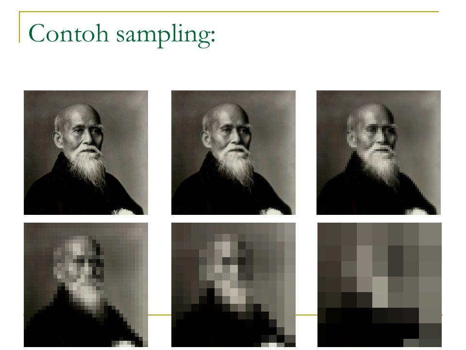 Contoh sampling: