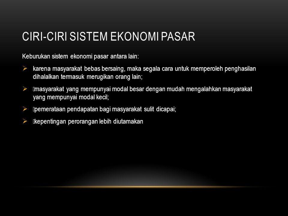SISTEM EKONOMI TERPUSAT (KOMANDO) Sistem ekonomi terpusat / sistem ekonomi perencanaan terpusat / sistem ekonomi terpimpin adalah sistem ekonomi yang kegiatan sepenuhnya diatur oleh pemerintah.