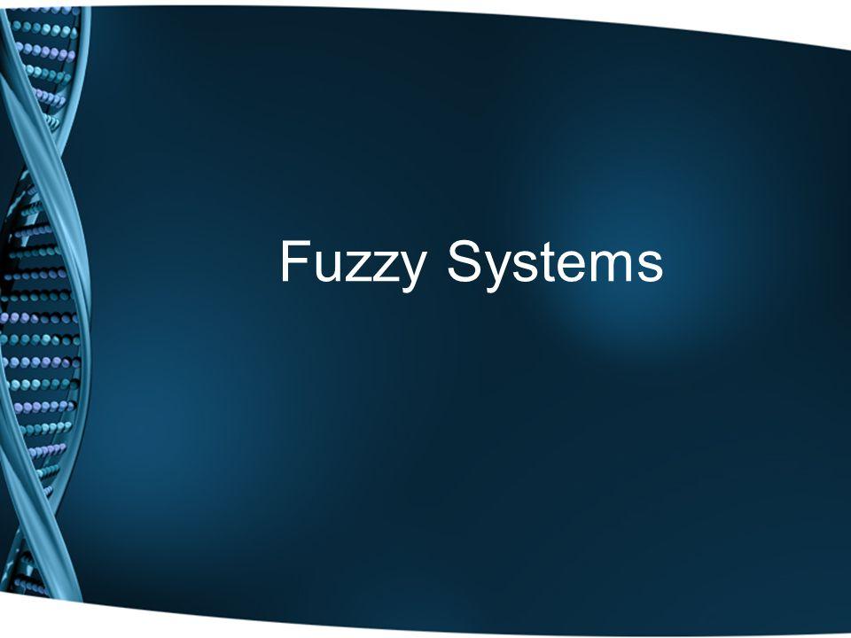 Fuzzy Systems