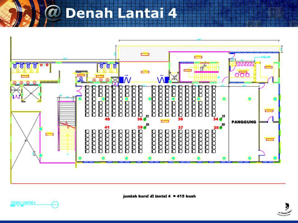 Denah Lantai 4