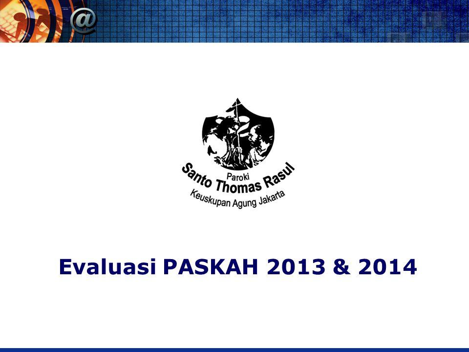 Evaluasi PASKAH 2013 & 2014
