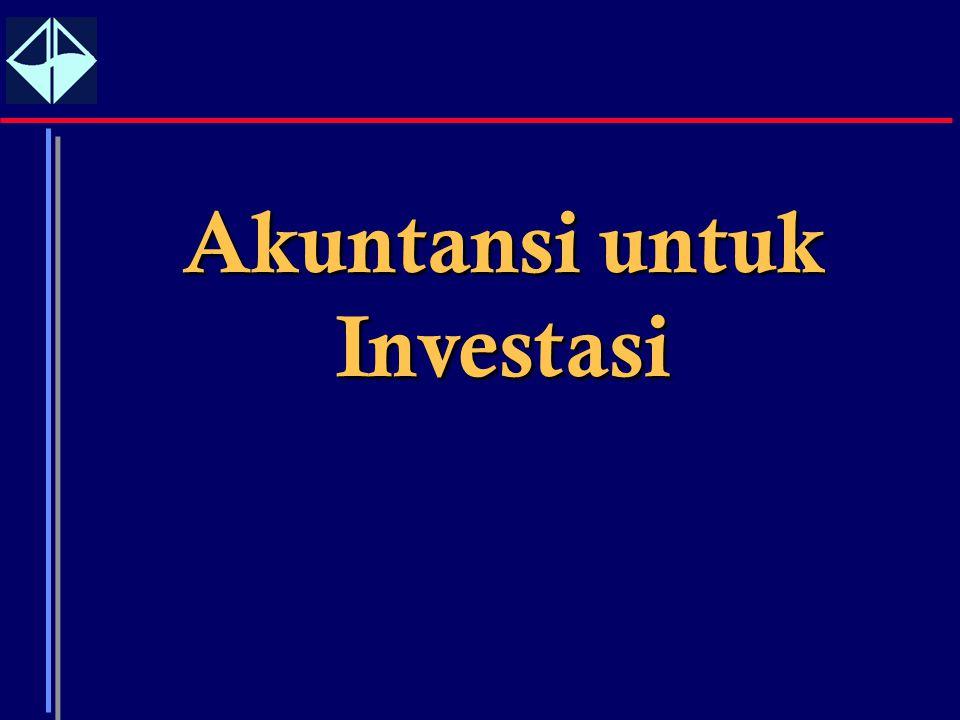 1 Akuntansi untuk Investasi