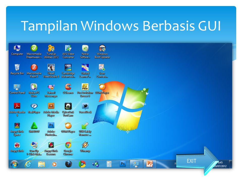 Tampilan Windows Berbasis GUI
