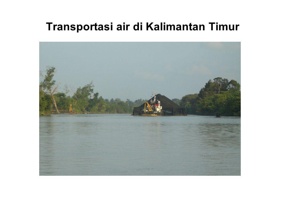 Transportasi air di Kalimantan Timur