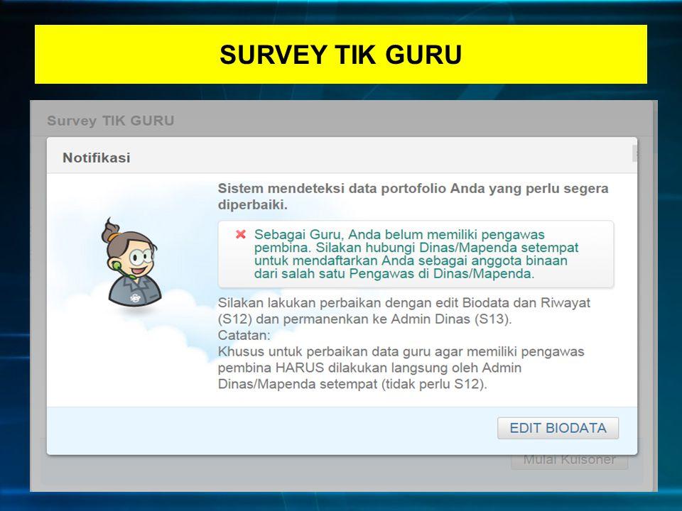 SURVEY TIK GURU