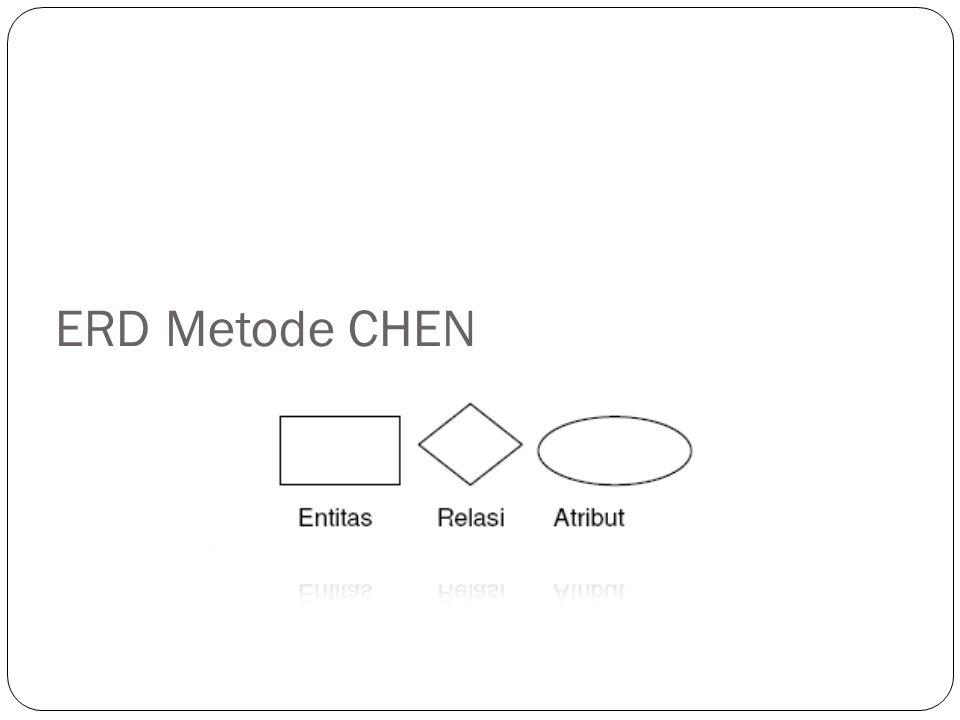 ERD Metode CHEN