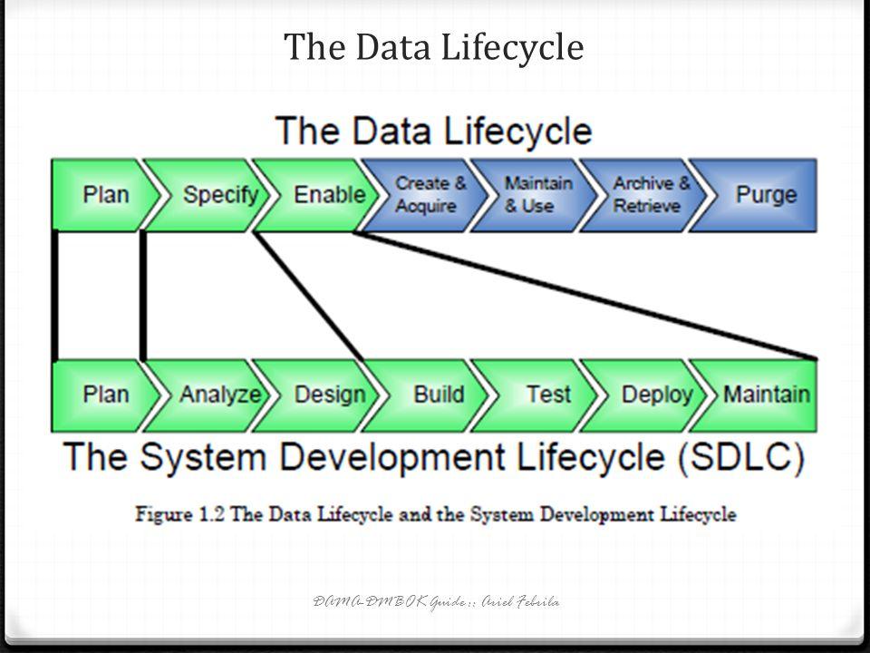 The Data Lifecycle DAMA-DMBOK Guide :: Ariel Febrila
