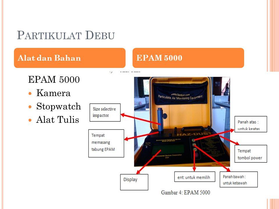 P ARTIKULAT D EBU EPAM 5000 Kamera Stopwatch Alat Tulis Alat dan BahanEPAM 5000