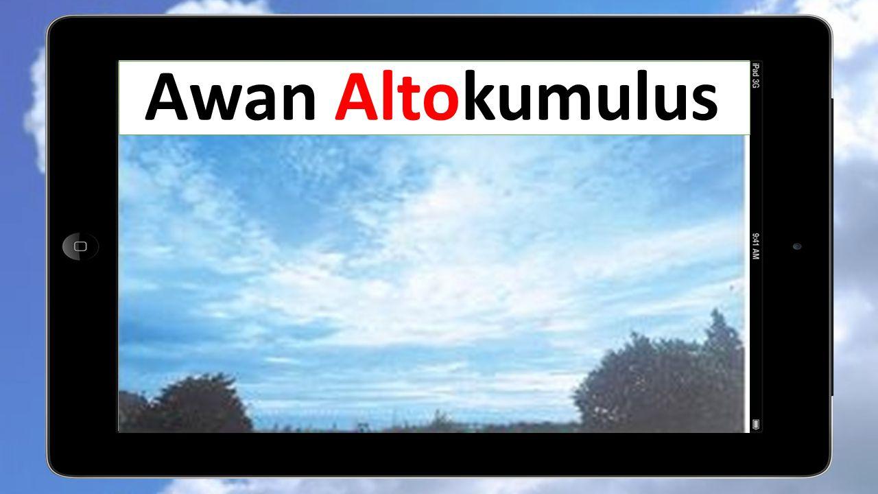 Awan Altokumulus