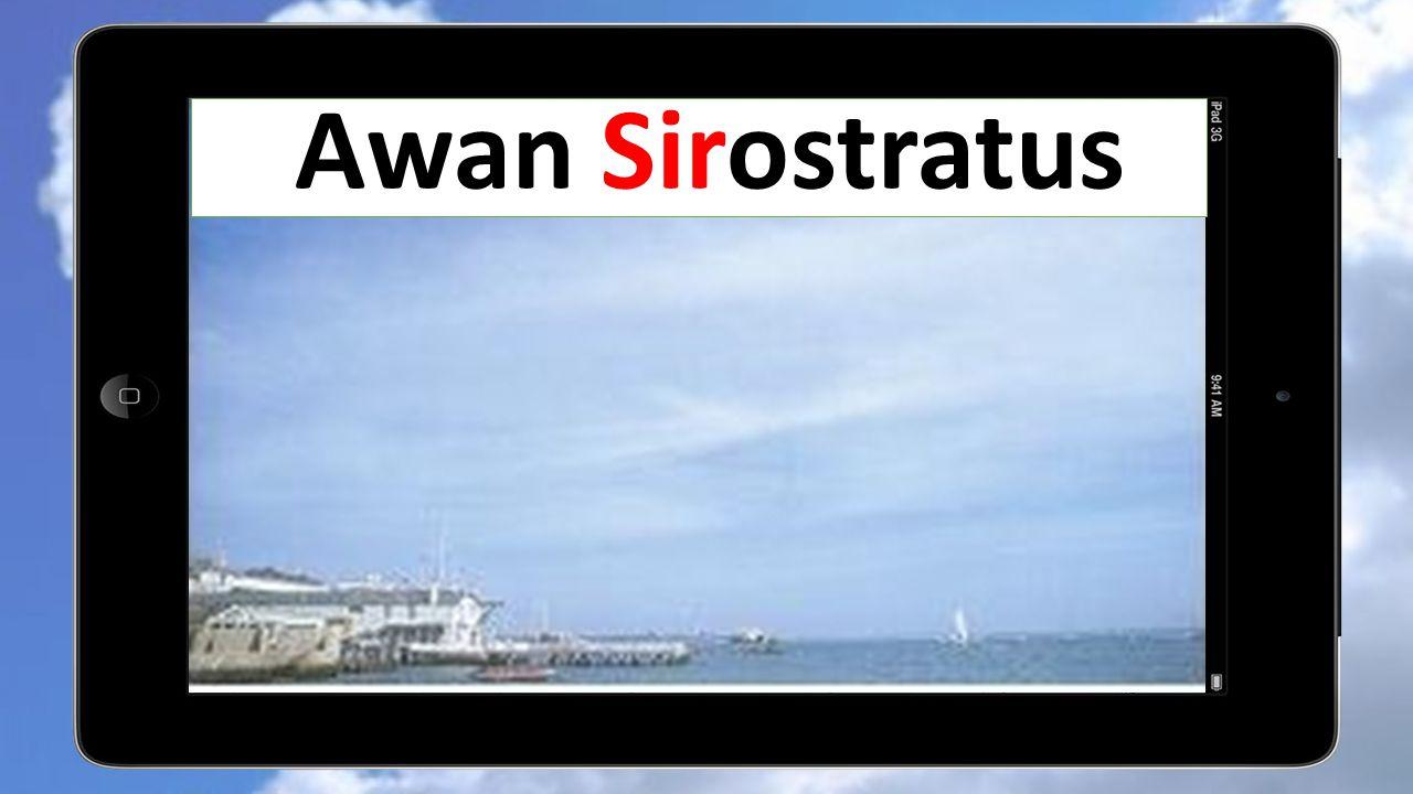 Awan Sirostratus