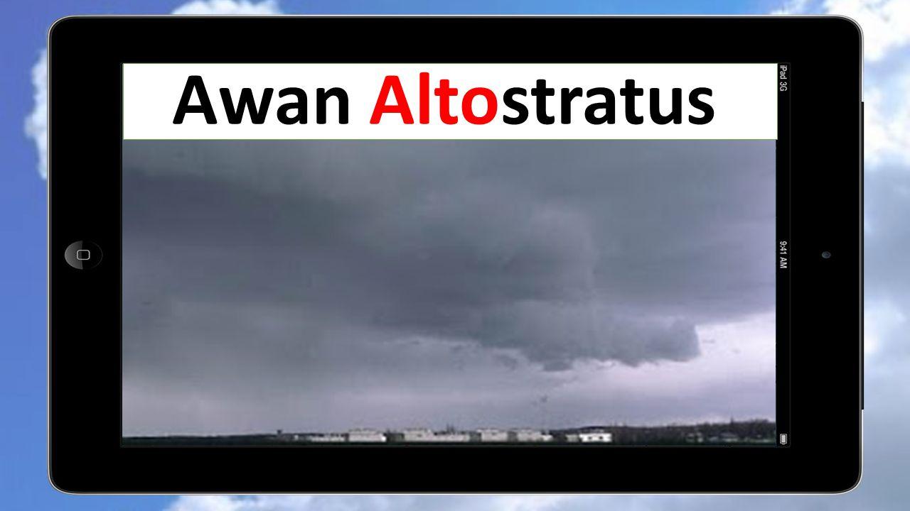 Awan Altostratus