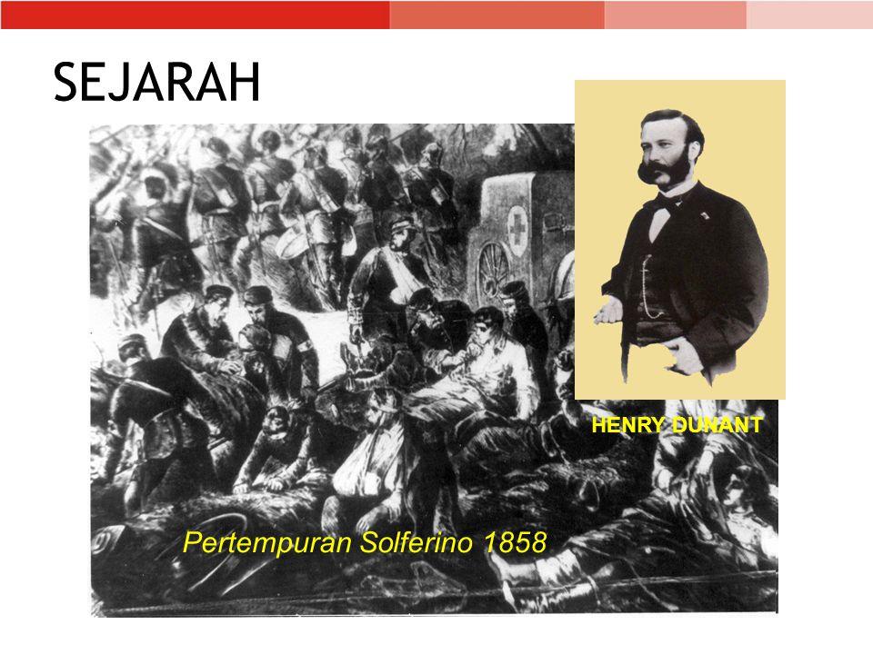 SEJARAH Pertempuran Solferino 1858 HENRY DUNANT
