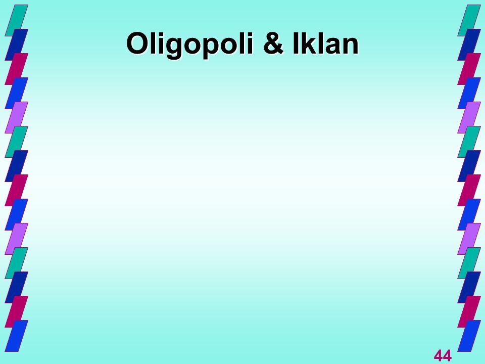 44 Oligopoli & Iklan