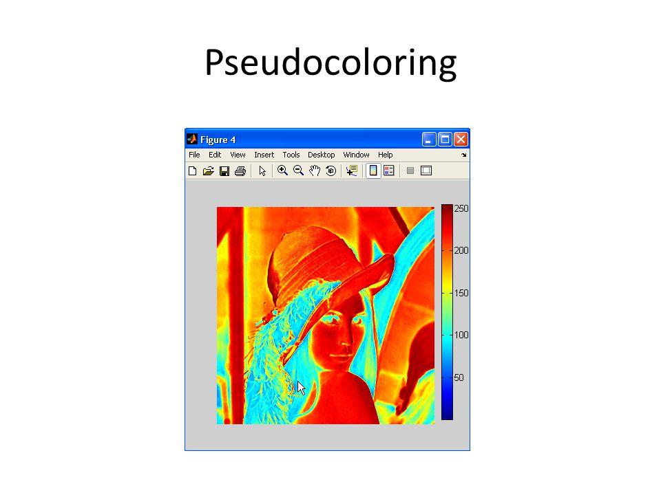 Pseudocoloring