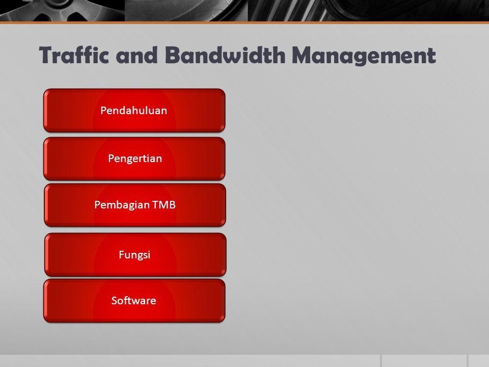 Pendahuluan  Bandwidth manajemen merupakan cara pengaturan bandwidth supaya terjadi pemerataan pemakaian bandwidth  Cara melakukan :  Dari Proxy  Dengan Qos / Traffick Shapping : HTB, CBQ