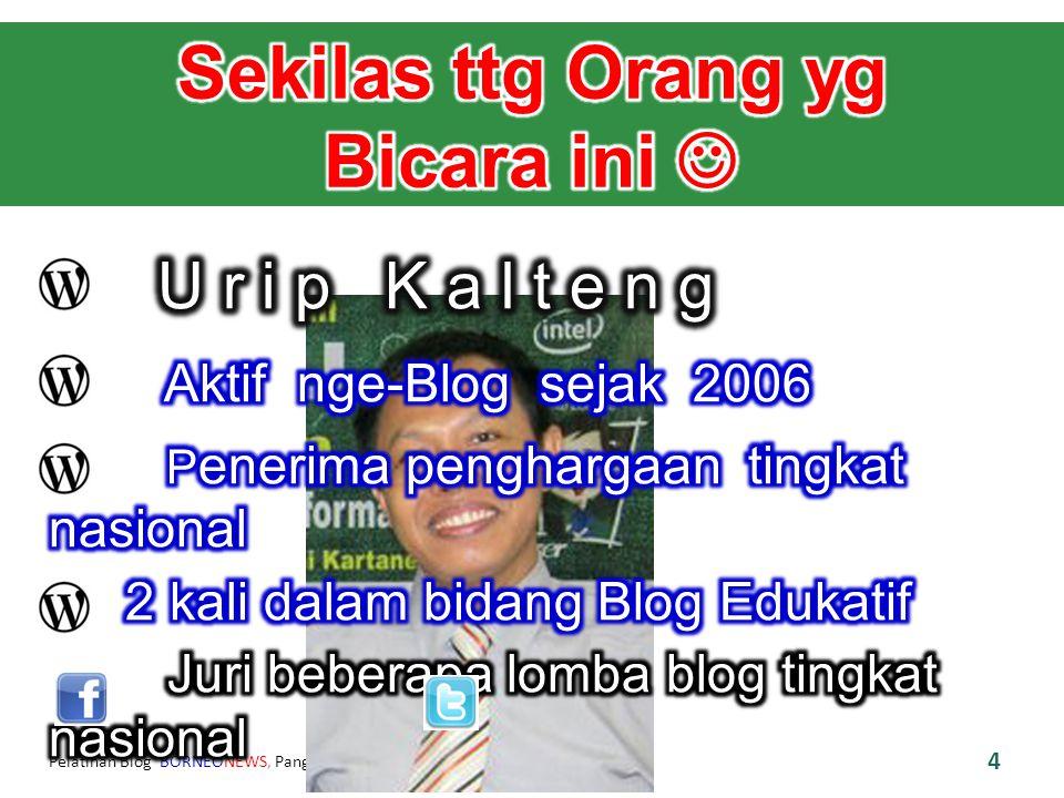 Pelatihan Blog BORNEONEWS, Pangkalan Bun, 13 Agustus 2012 15