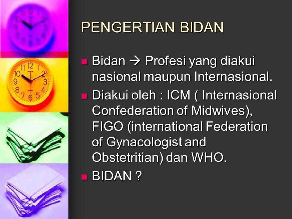 BIDAN DI INDONESIA .