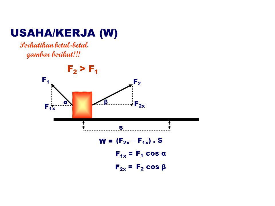 s F 2x W = (F 2x – F 1x ).
