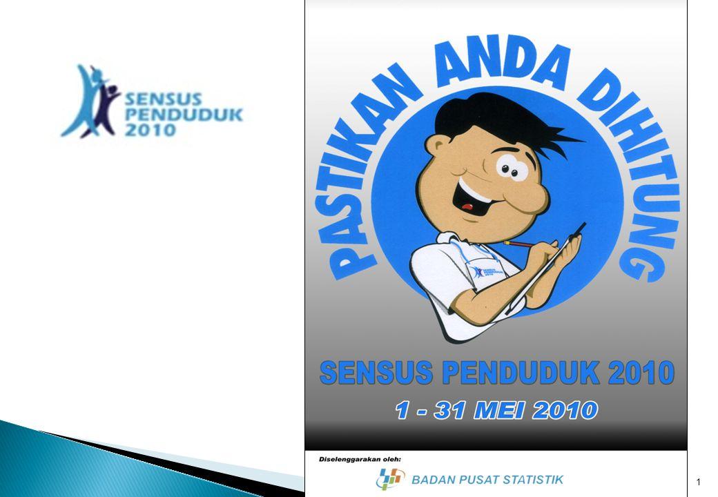 SENSUS PENDUDUK TAHUN 2010 (SP2010) 2