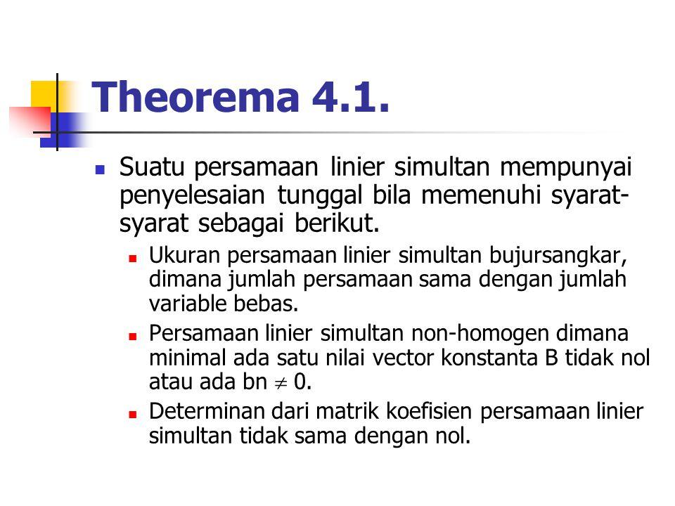 Theorema 4.1.