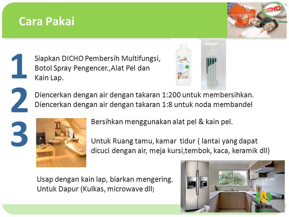 单击此处编辑母版文本样式 第二级 第三级 第四级 第五级 Cara Pakai www.tiens.com Bersihkan menggunakan alat pel & kain pel.