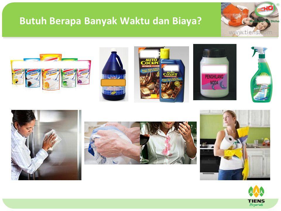 单击此处编辑母版文本样式 第二级 第三级 第四级 第五级 Butuh Berapa Banyak Waktu dan Biaya? www.tiens.com