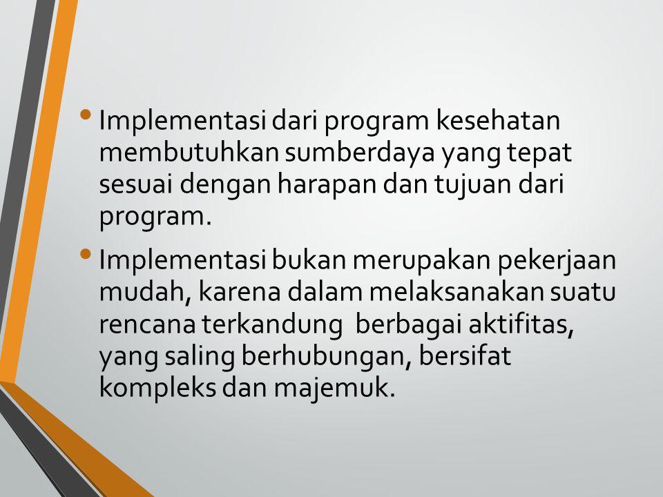 Keterampilan yang dibutuhkan untuk dapat melakukan implementasi suatu rencana dengan baik adalah: 1.
