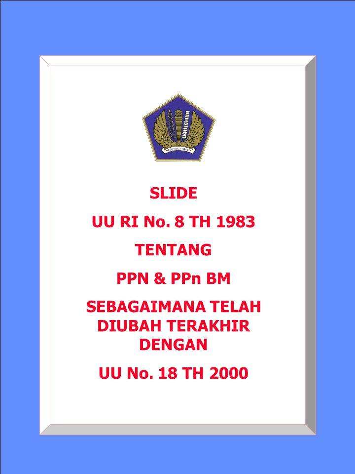 71 Puspenpa-2000 PM ATAS PPN TERUTANG TIDAK DIPUNGUT Ps.