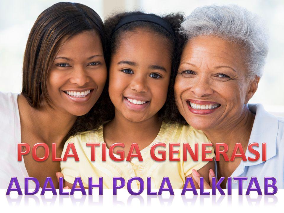 POLA TIGA GENERASI