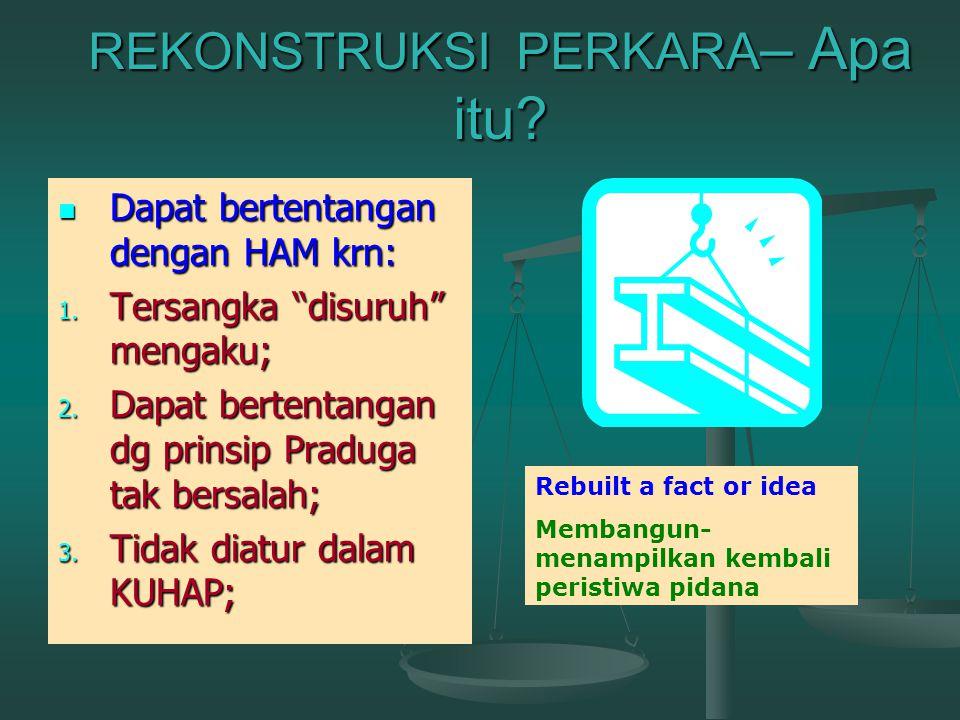 Tim Pencari Fakta BAP Pro Justitia Dilimpahkan Tim Pencari Fakta