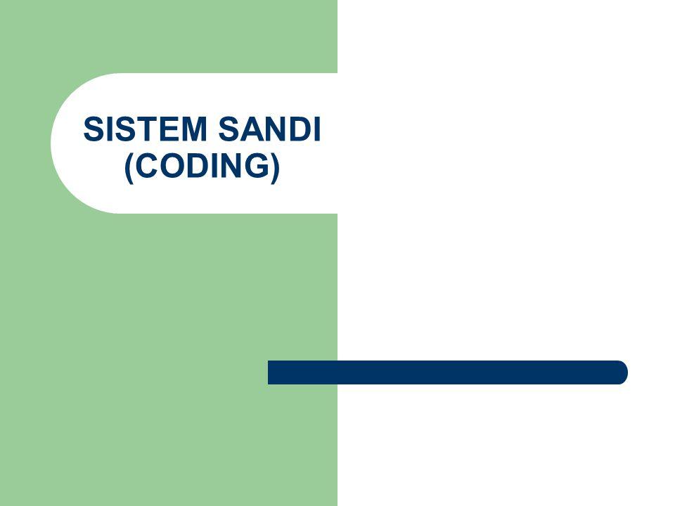 SISTEM SANDI (CODING)