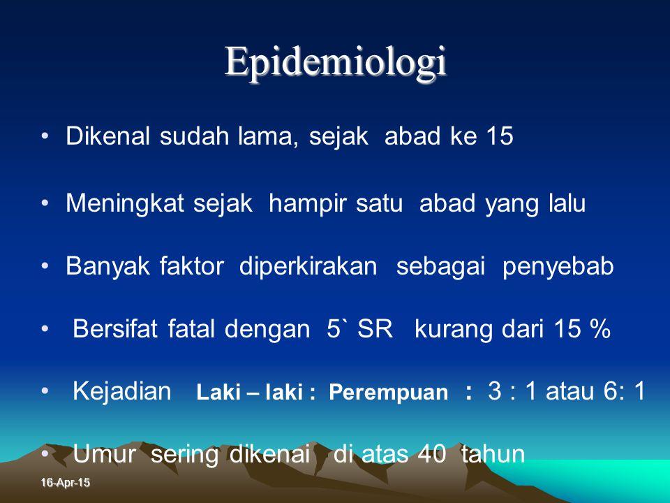 16-Apr-15 Macamnya Kanker Paru Primer : Berasal dari organ paru sendiri Metastase : Berasal dari organ di luar paru seperti : - Mamma - Ginjal - Ovari