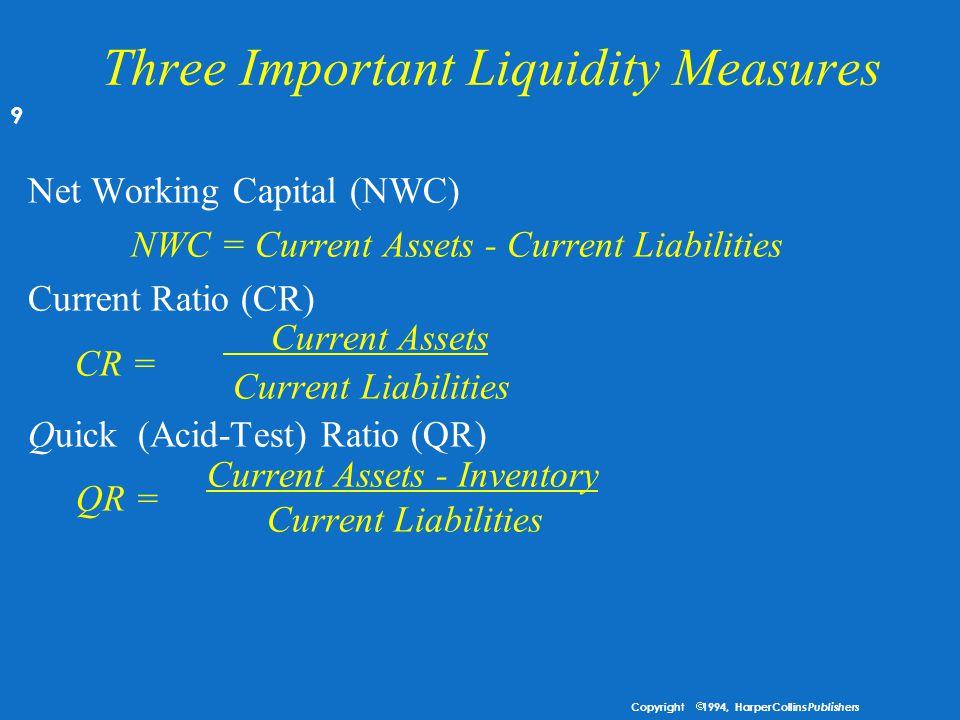 """Analyzing Liquidity u Likuiditas mengacu pada kesanggupan melunaskan hutangnya dari posisi keuangan secara keseluruhan perusahaan, yaitu """"likuid"""