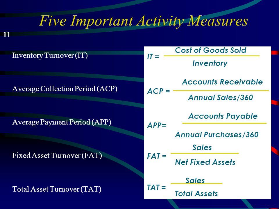 Analyzing Activity u Activity (kegiatan) adalah analisis yang lebih canggih dari likuiditas perusahaan, mengevaluasi kecepatan yang rekening/pos terte