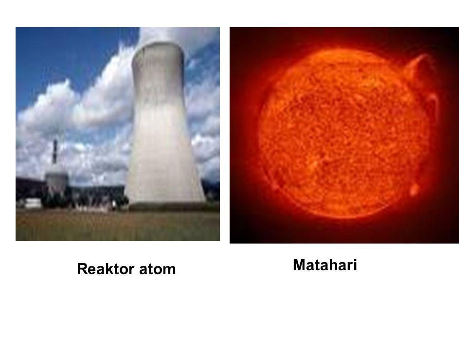 REAKSI FISI Reaksi fisi adalah reaksi yang terjadi pada inti berat yang ditumbuk oleh sebuah partikel (umumnya neutron) kemudian membelah menjadi dua inti baru yang lebih ringan.