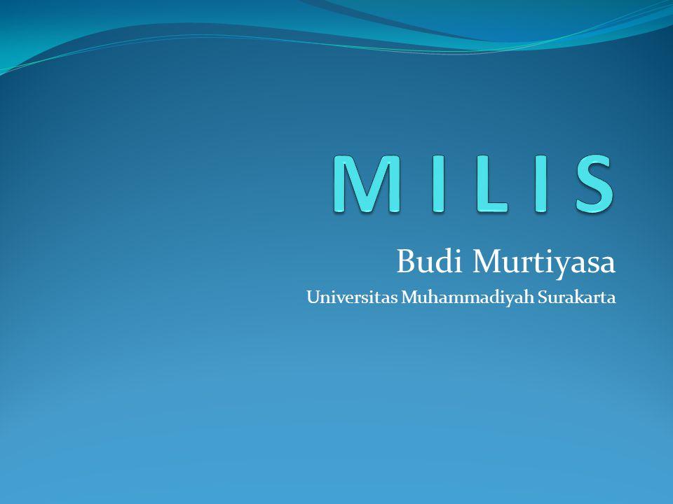 Budi Murtiyasa Universitas Muhammadiyah Surakarta