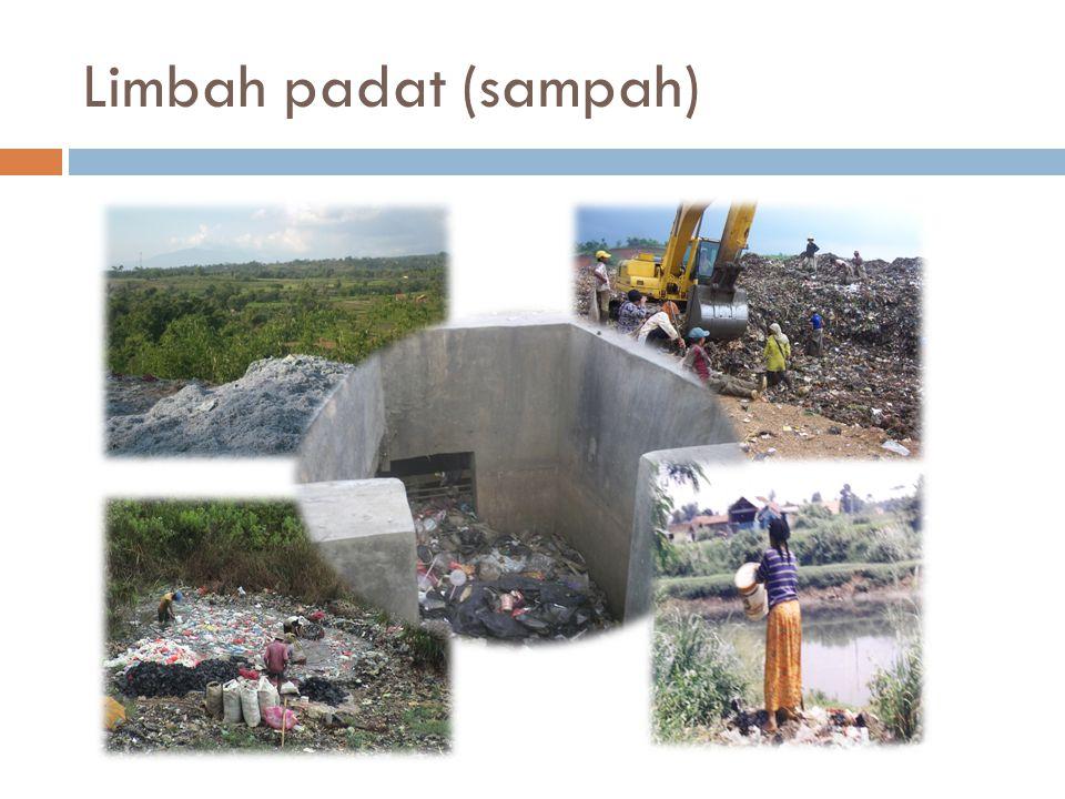 Limbah padat (sampah)