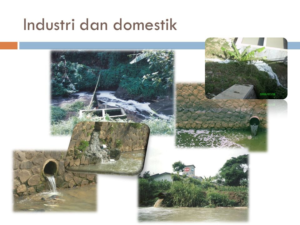 Industri dan domestik