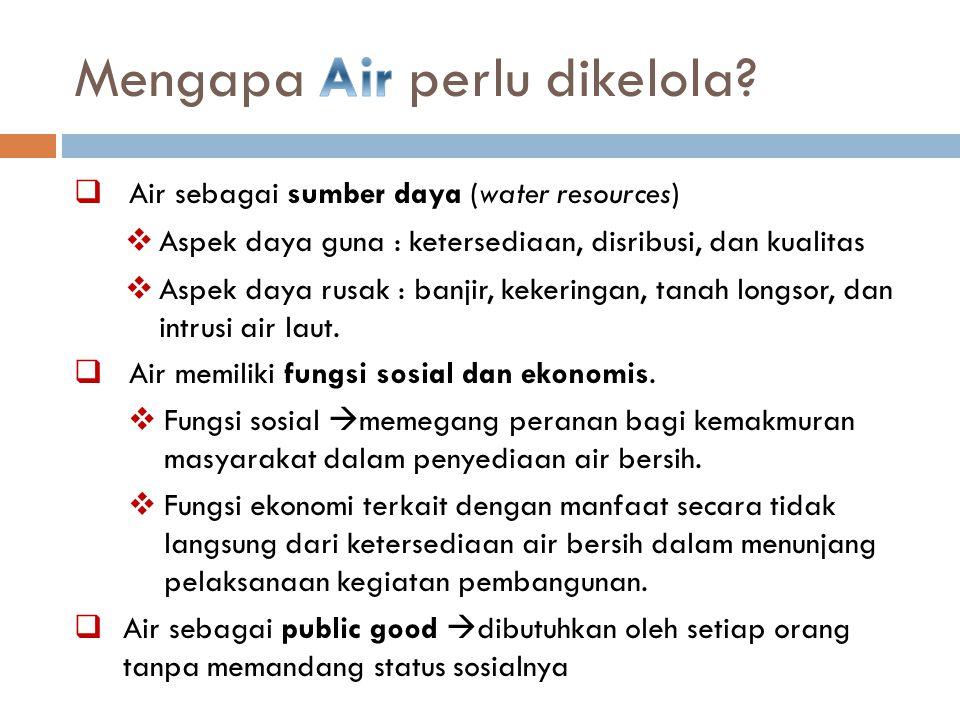 Kondisi Air Permukaan Citarum Hulu telah melebihi kapasitas self purification Sumber : Marganingrum, 2007 23