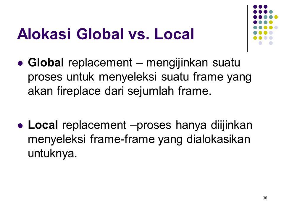 38 Alokasi Global vs.