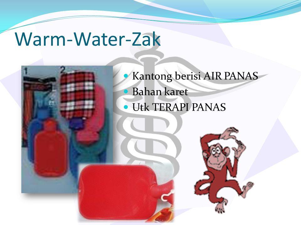 Warm-Water-Zak Kantong berisi AIR PANAS Bahan karet Utk TERAPI PANAS