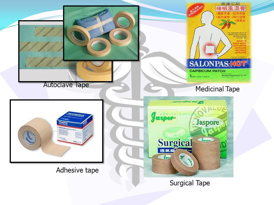 Autoclave Tape Adhesive tape Medicinal Tape Surgical Tape