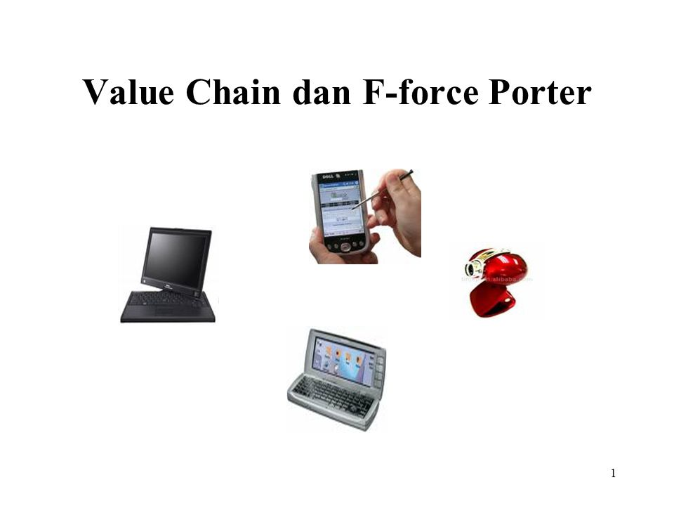 1 Value Chain dan F-force Porter